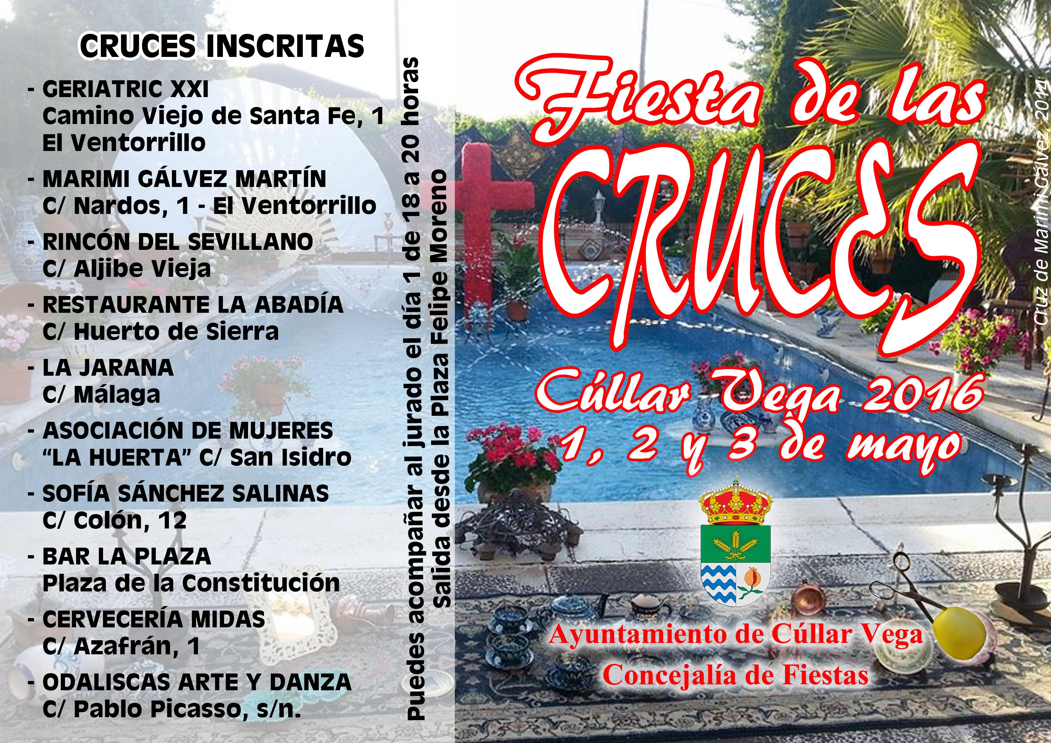Cruces premiadas en el concurso de Cruces de Mayo 2016