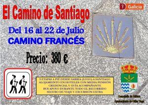 Viaje al Camino de Santiago @ Camino Francés, desde Sarria (Lugo) a Santiago de Compostela