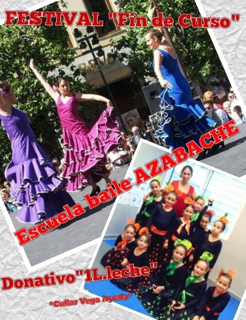 Actuación de la Escuela de Baile Azabache