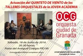 Concierto de la OCG en Cúllar Vega