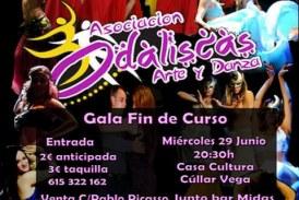 Gala de Fin de Curso de Odaliscas Arte y Danza