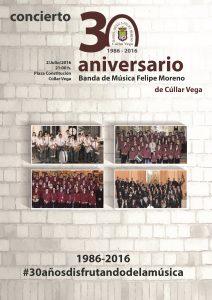 Concierto XXX Aniversario BMFM @ Plaza de la Constitución | Cúllar Vega | Andalucía | España