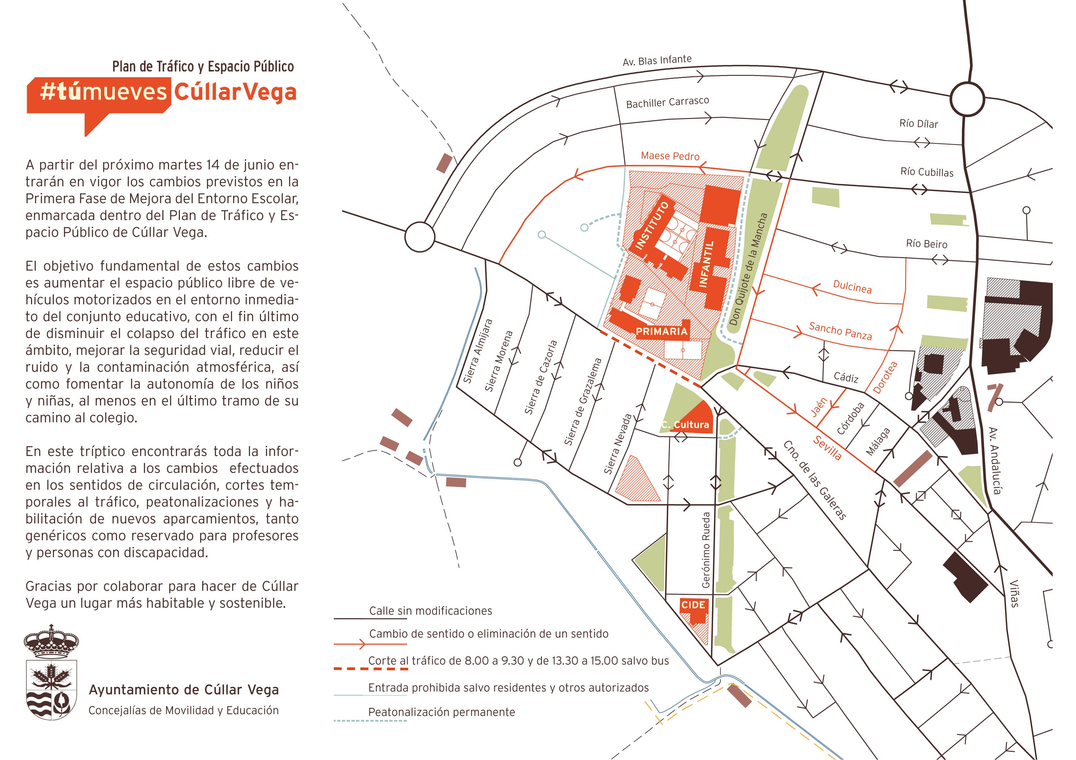 Plan de movilidad de Cúllar Vega