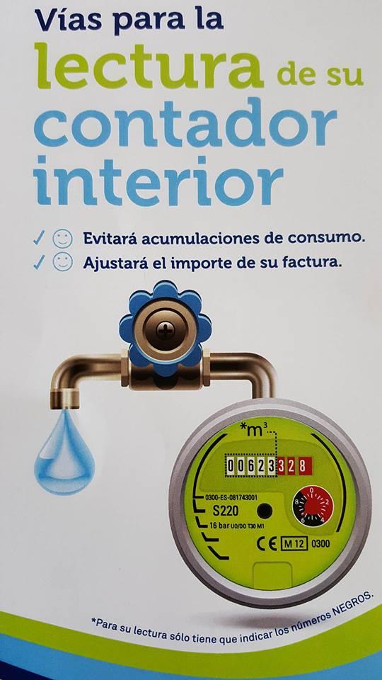 INFORMACIÓN EMASAGRA: Lectura Contadores Interiores