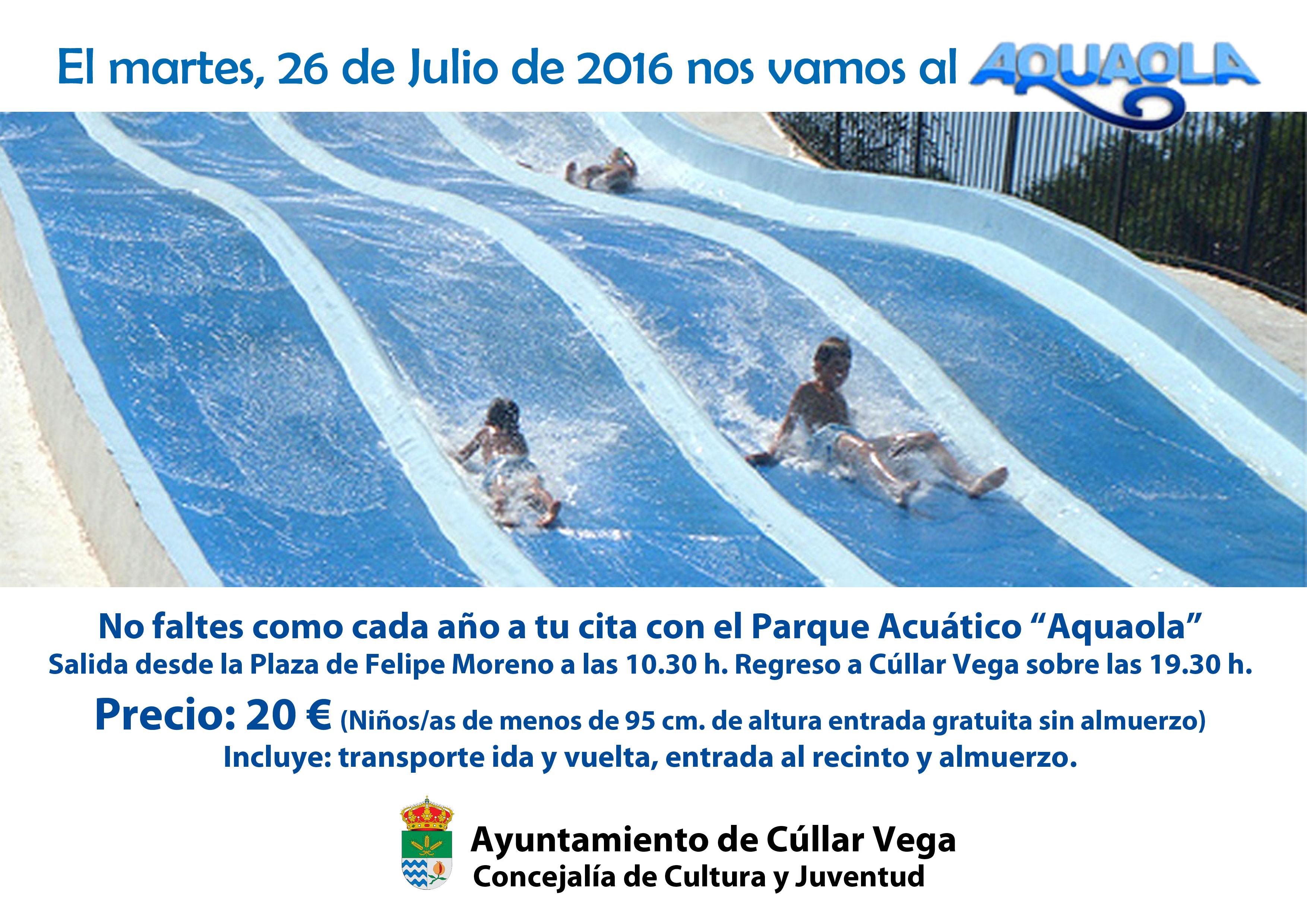 Excursión al Parque Acuático Aquaola