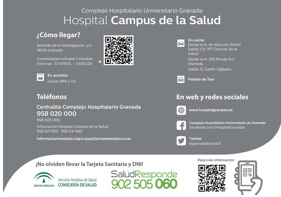 Informaci n de inter s sobre el nuevo hospital del campus de la salud c llar vega - Hospital de la paz como llegar ...