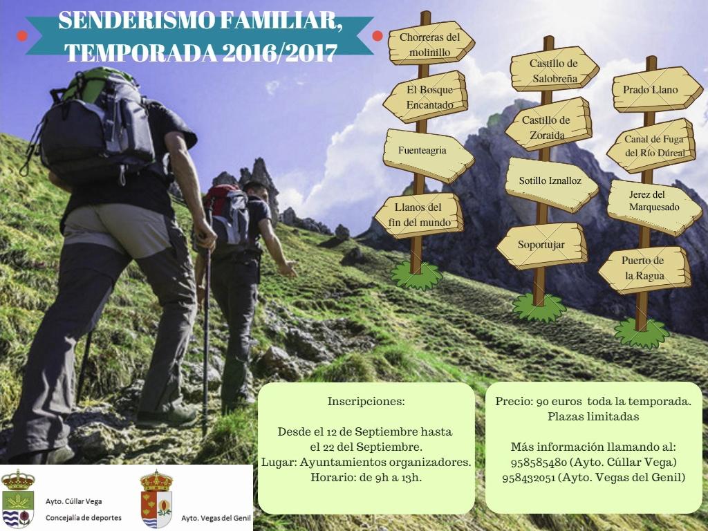 SENDERISMO FAMILIAR. TEMPORADA 2016-2017