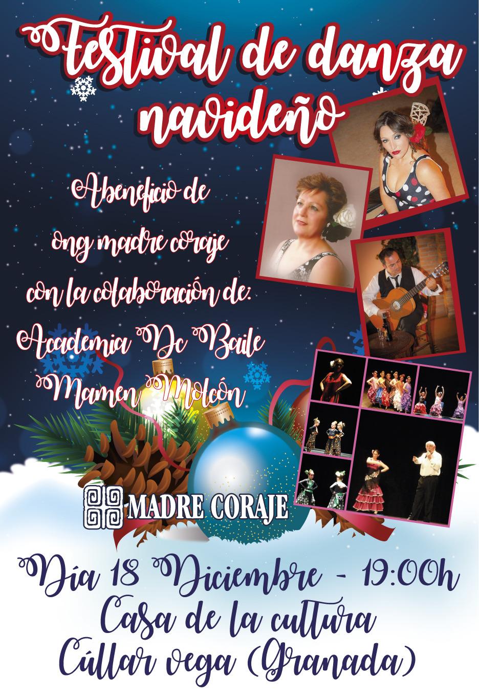Festival de Danza Navideño a beneficio de la ONG Madre Coraje