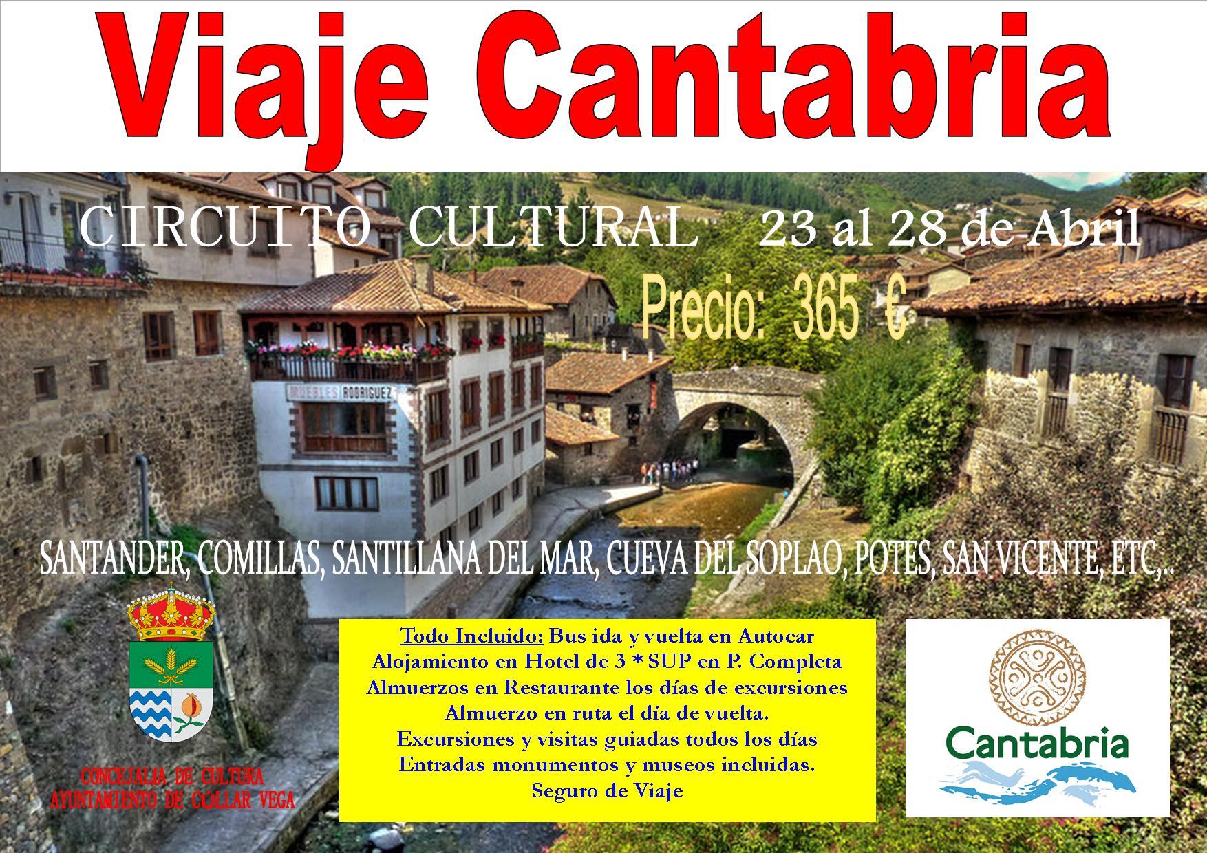 Viaje Cultural a Cantabria. Abril 2017