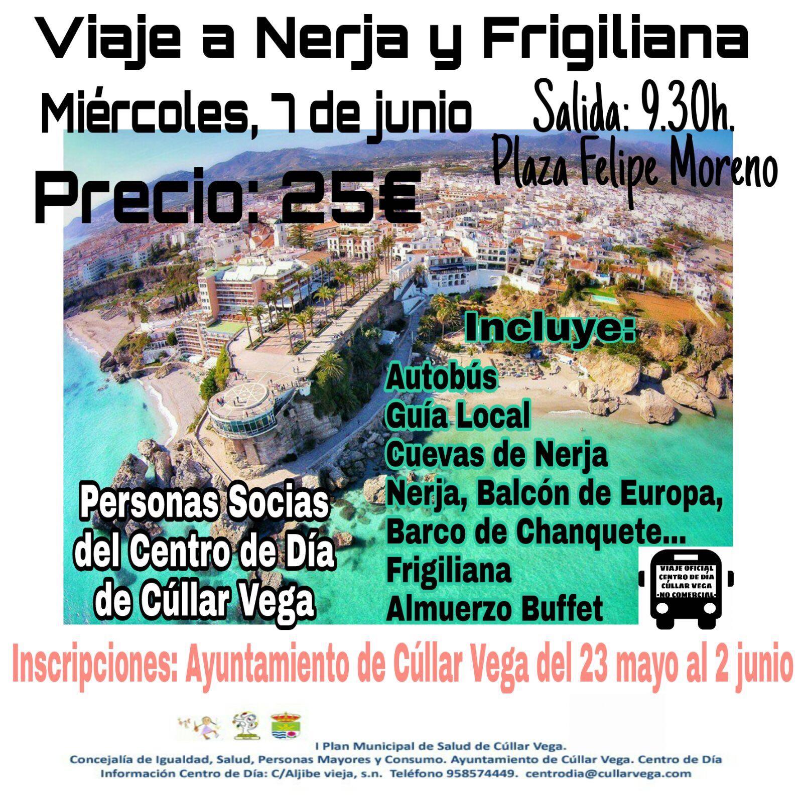 Viaje a Nerja y Frigiliana del Centro de Día