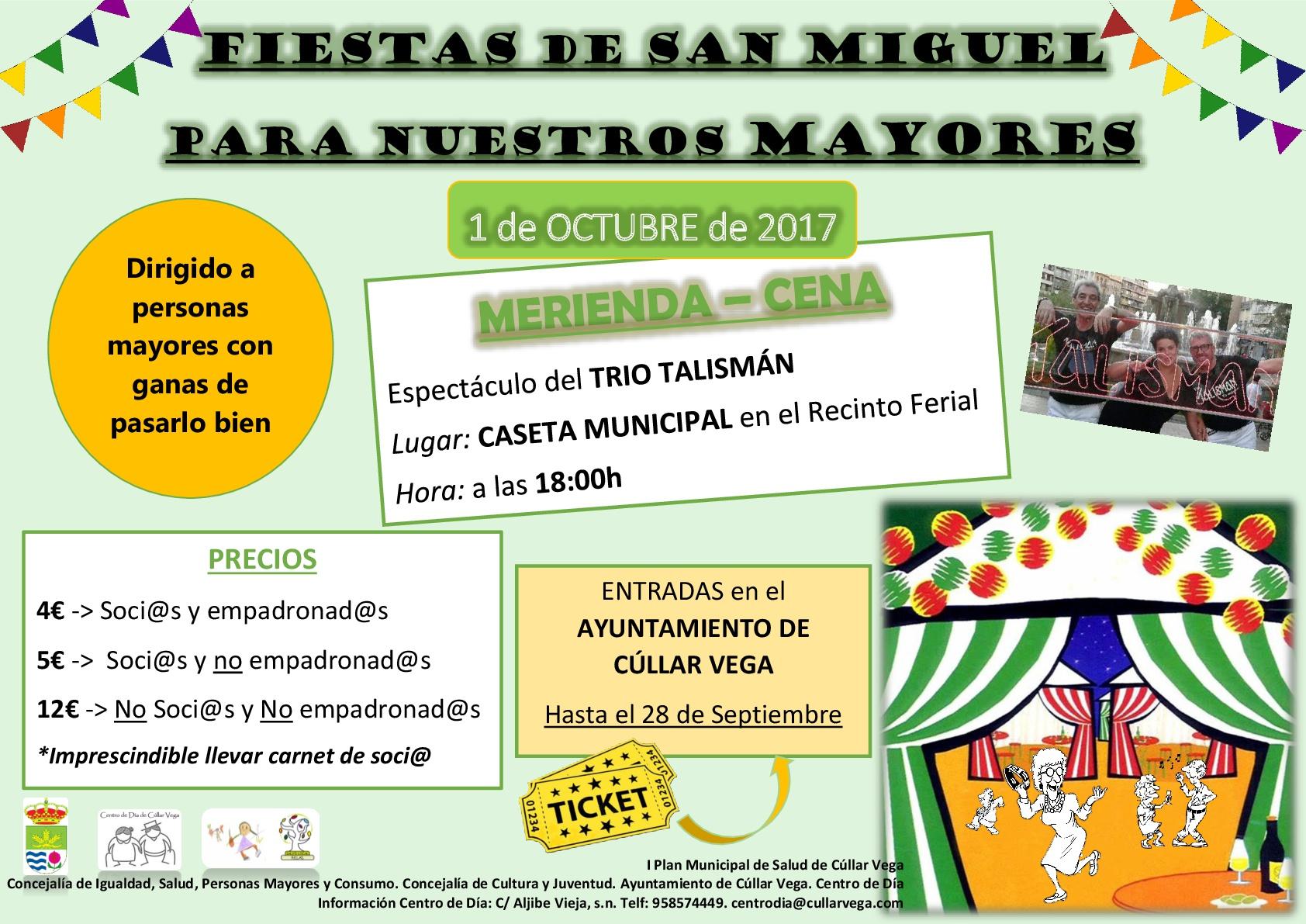 Merienda-Cena en honor a Nuestros Mayores