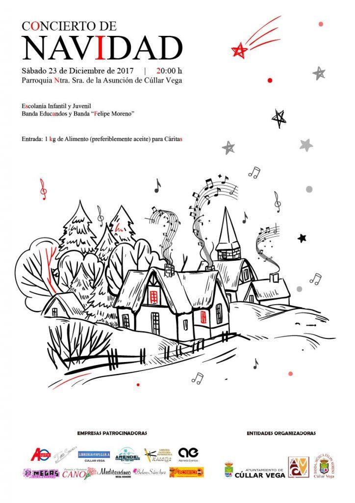 Concierto de Navidad de la Asociación Musical Cúllar Vega