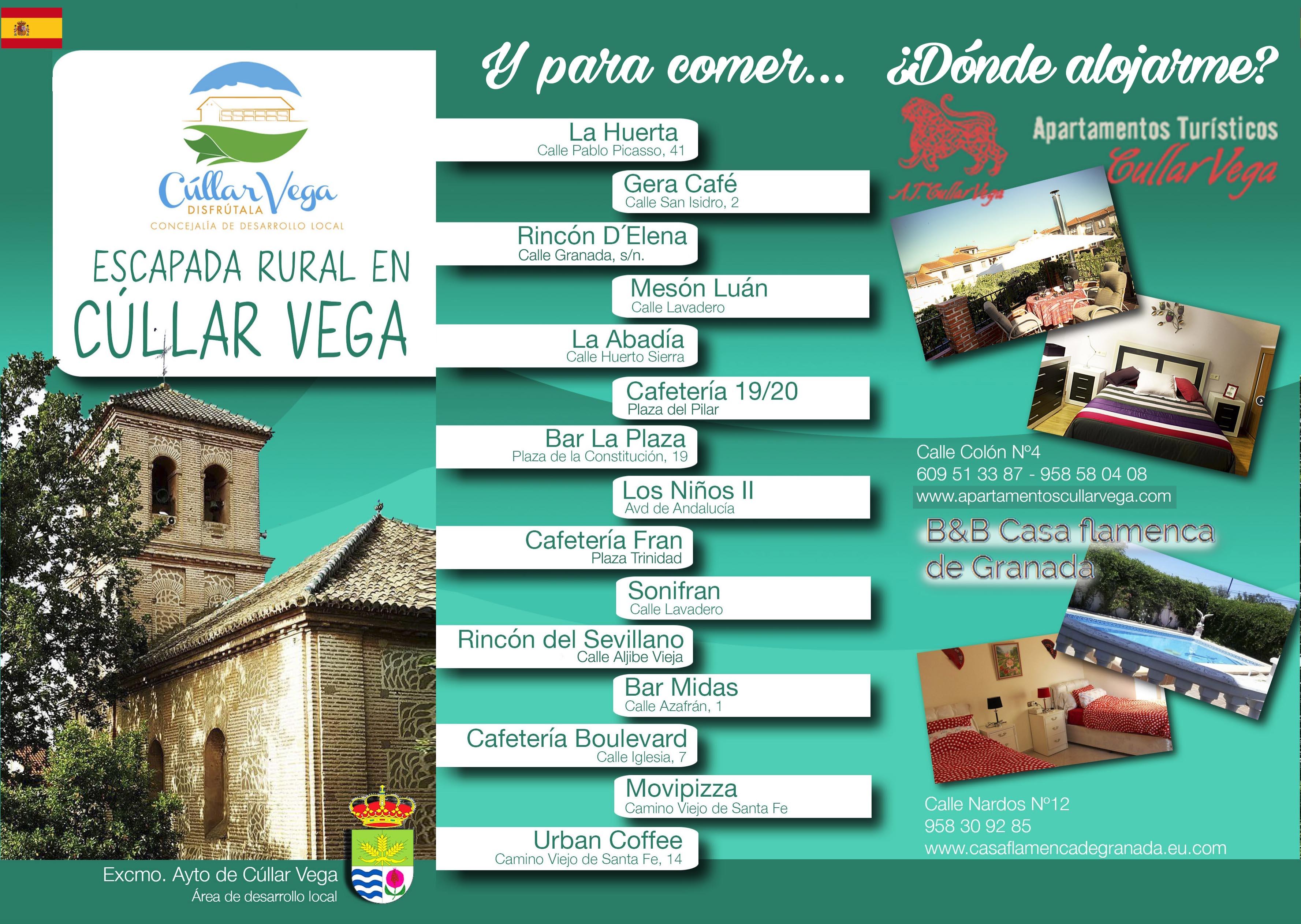 Folleto Turismo español 1