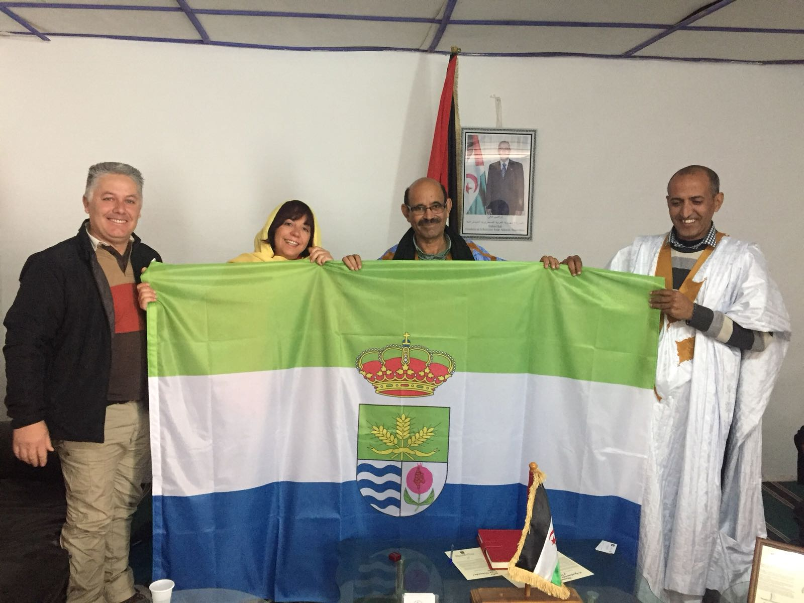 Cúllar Vega se hermana con la Wilaya de Dajla,  en el Sáhara