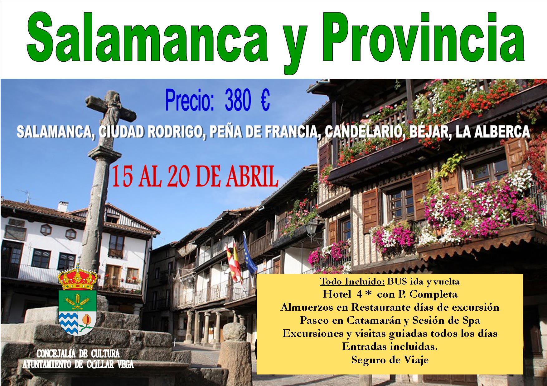 Viaje a Salamanca y Provincia