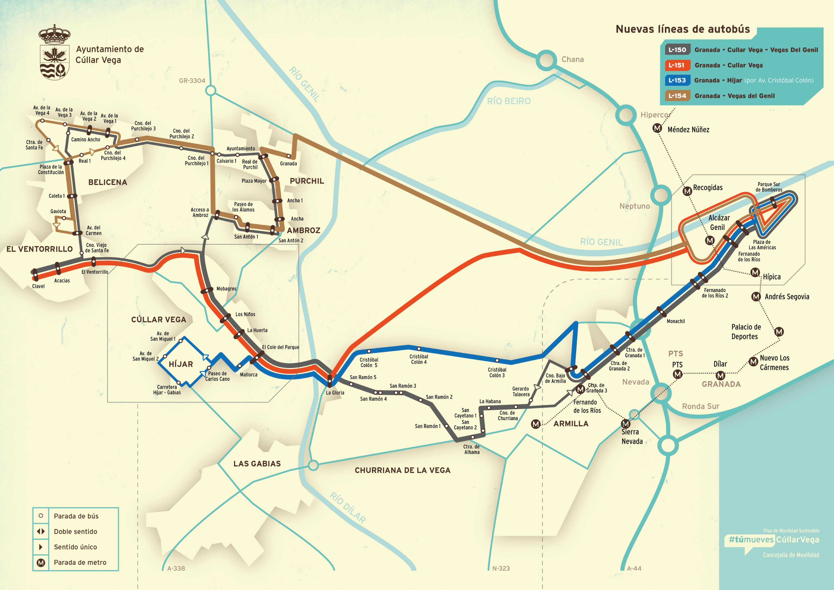 Horarios Buses con todas las Líneas y Expediciones