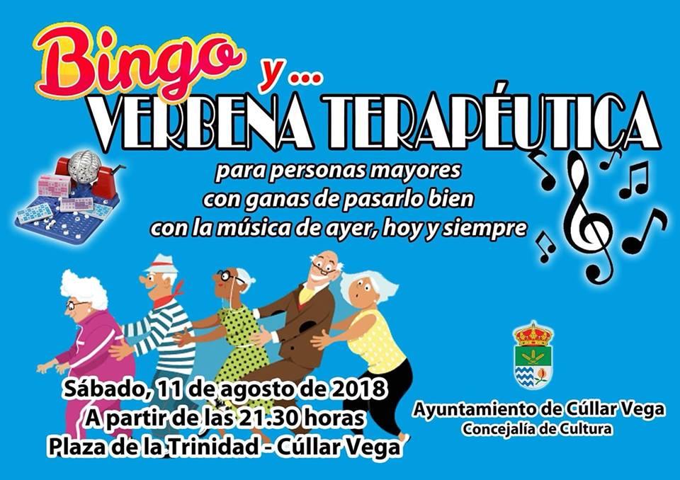 Cúllar Vega organiza una 'verbena terapéutica' y un bingo para ayudar a sus mayores a relacionarse