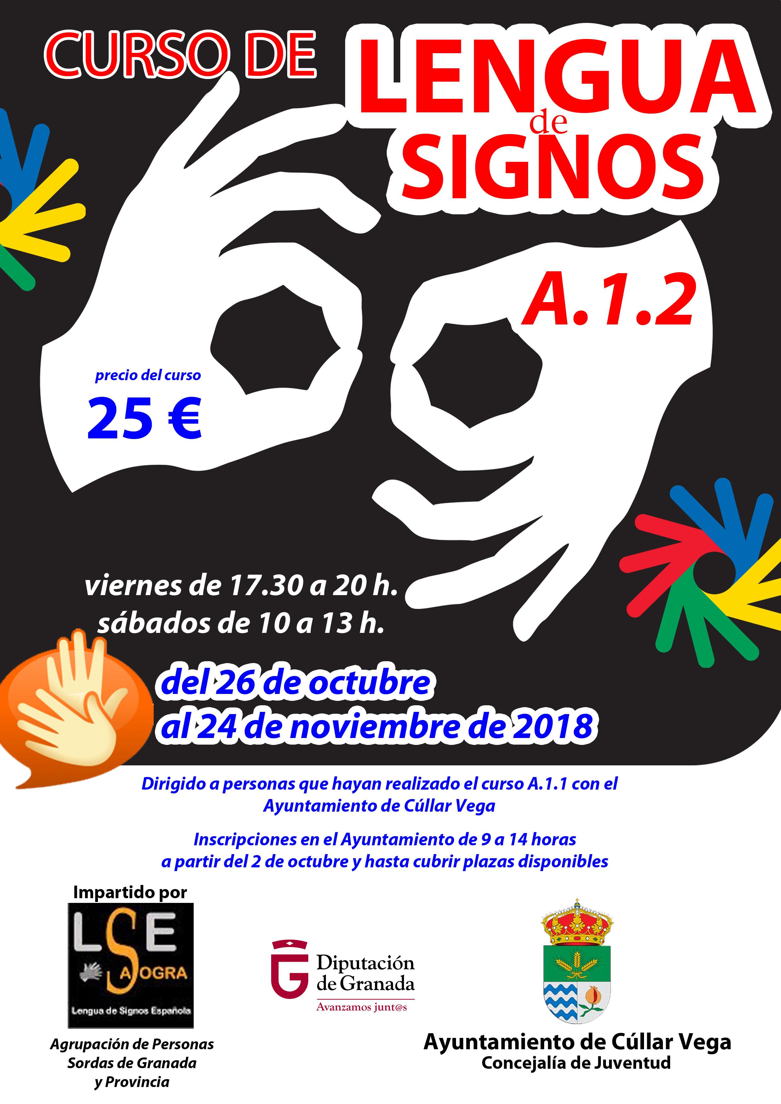 Curso A1-2 de Lengua de Signos Española