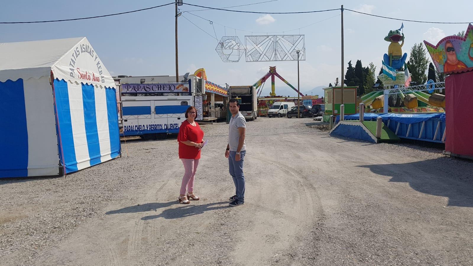 Cúllar Vega estrenará su nuevo recinto ferial en las fiestas de San Miguel