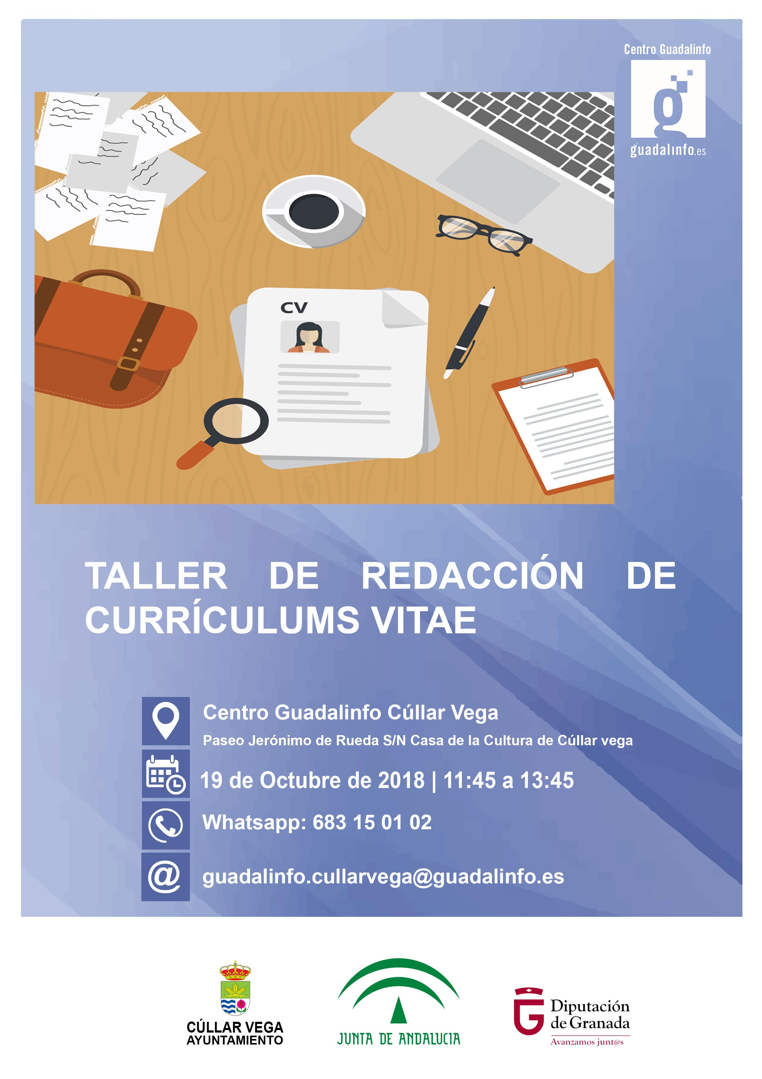 Taller para Aprender a Redactar un Currículum Vitae