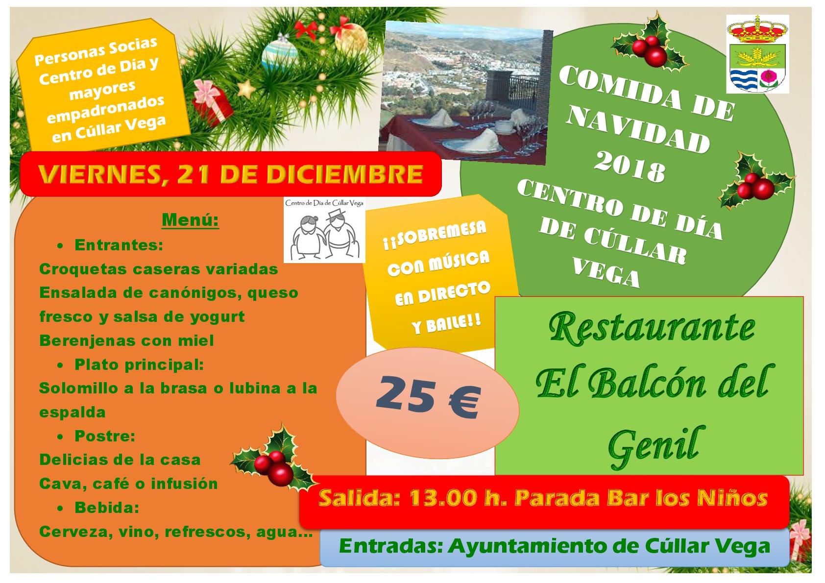 Comida de Navidad 2018 Centro de Día