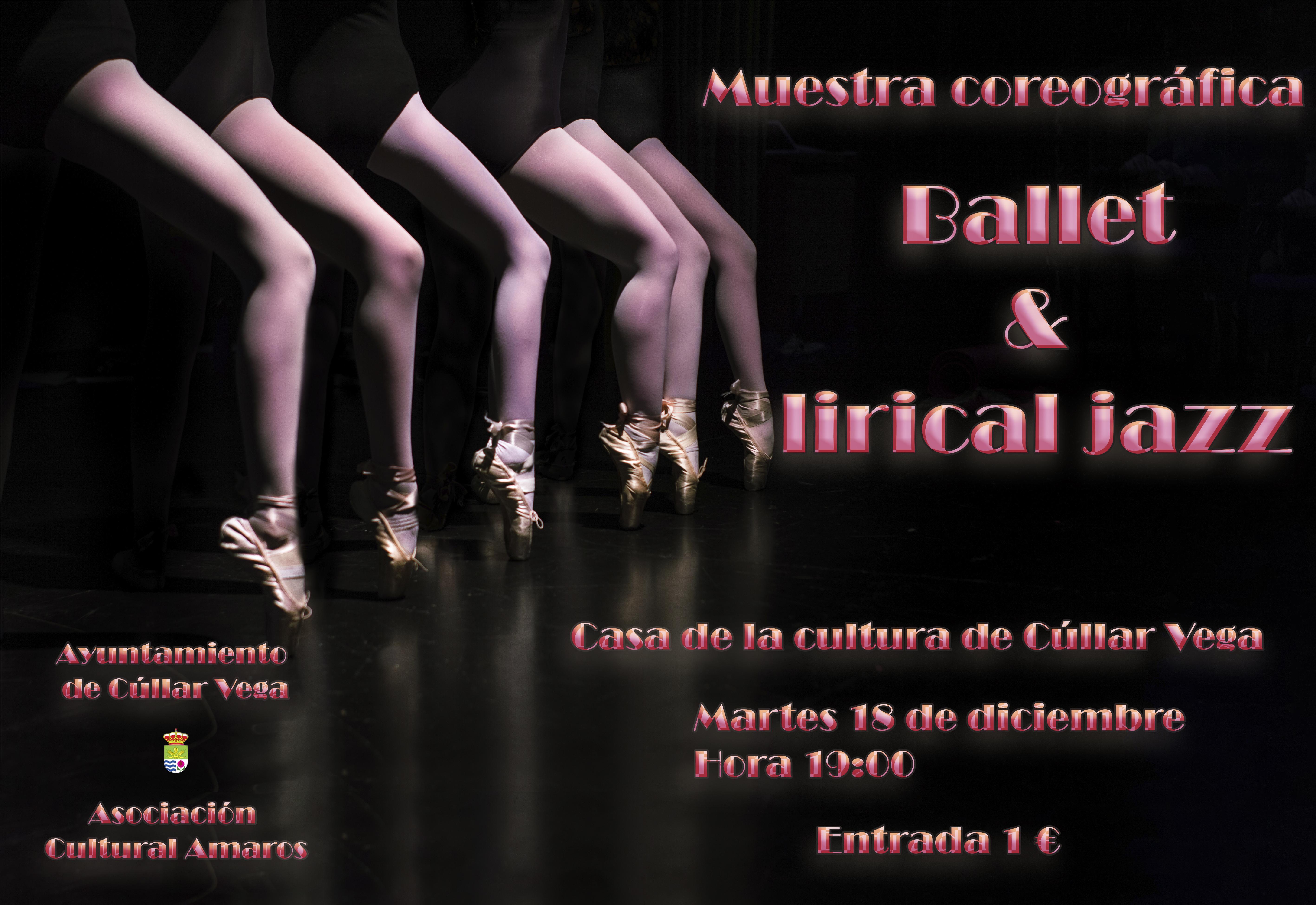 Muestra coreográfica del Taller de Ballet y Lirical Jazz