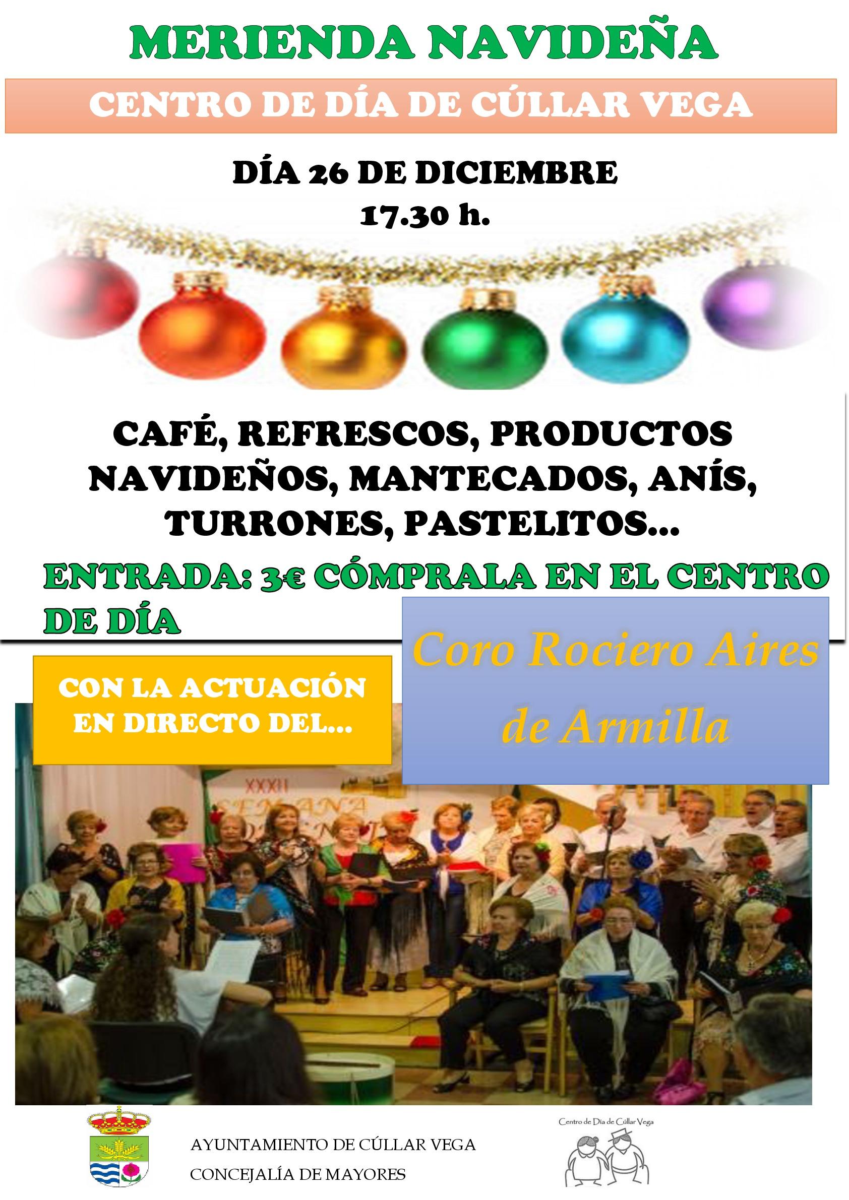Merienda Navideña en el Centro de Día