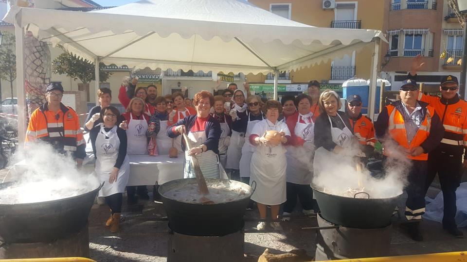 Record de Participación y Recaudación en la Olla de San Antón de Cúllar Vega