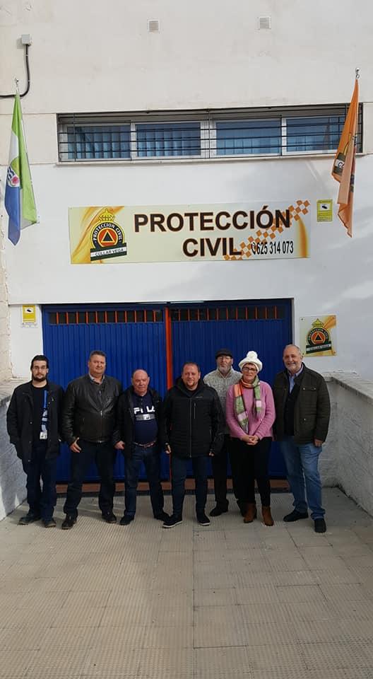 La agrupación de Protección Civil de Cúllar Vega estrena nueva sede