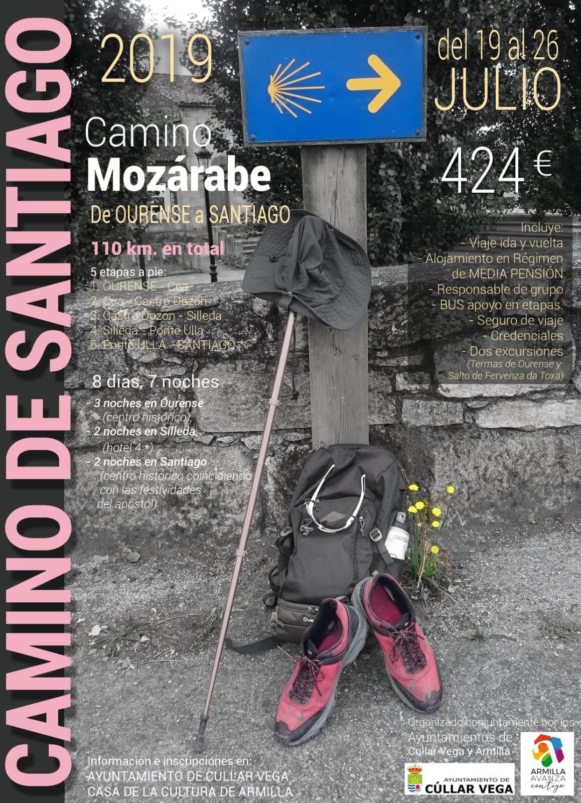 Viaje al Camino de Santiago - Camino Mozárabe