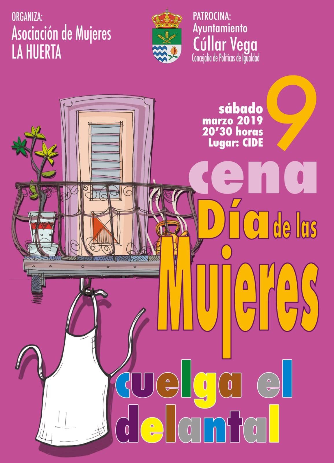 Cena Día Internacional de Las Mujeres
