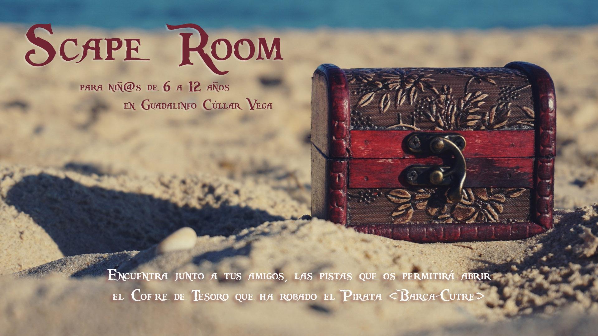 Primer Scape Room para niños/as en el Centro Guadalinfo de Cúllar Vega