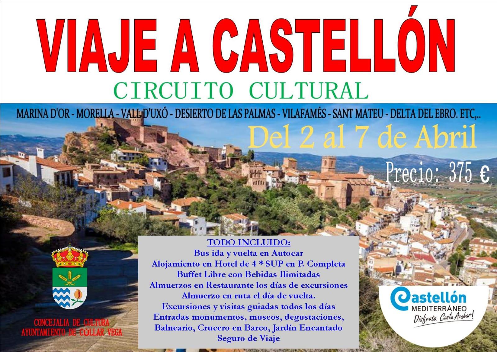 Viaje a Castellón Interior y Costa del Azahar