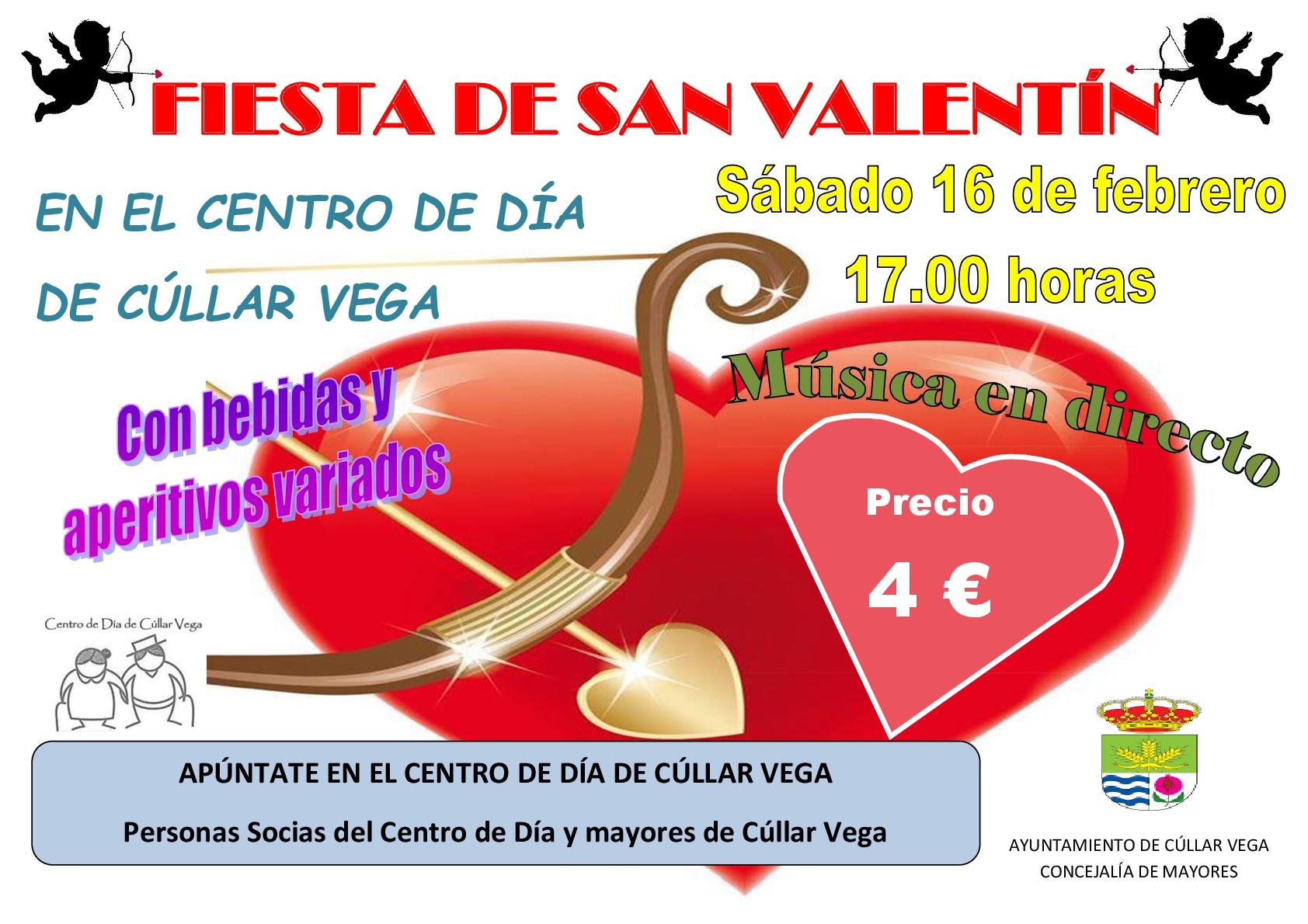 Fiesta de San Valentín en el Centro de Día de Cúllar Vega