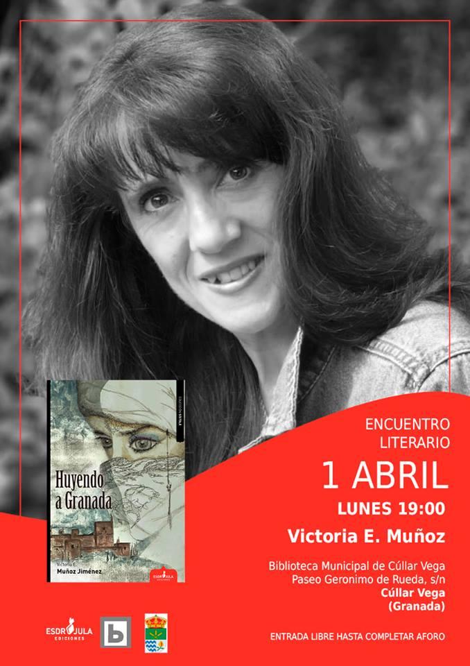 Lunes 1 de abril, Encuentro literario en la Biblioteca