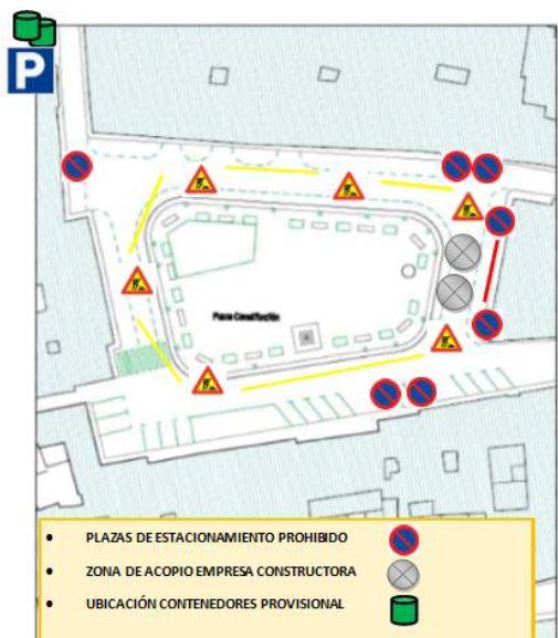 Información Próximas Obras en Plaza de la Constitución