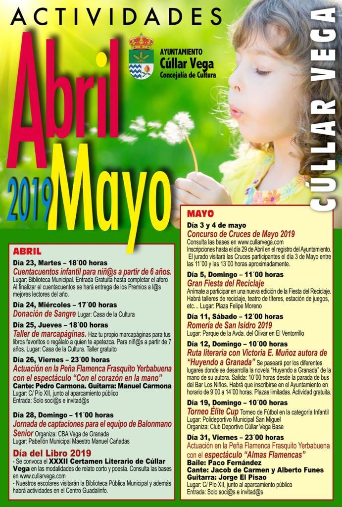 Actividades Abril-Mayo 2019