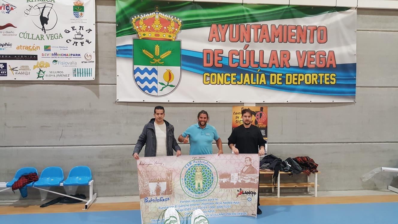Un deportista anda desde Sevilla hasta Granada para hacer la ruta de Washington Irving