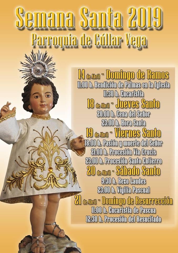 Horarios Semana Santa Cúllar Vega 2019