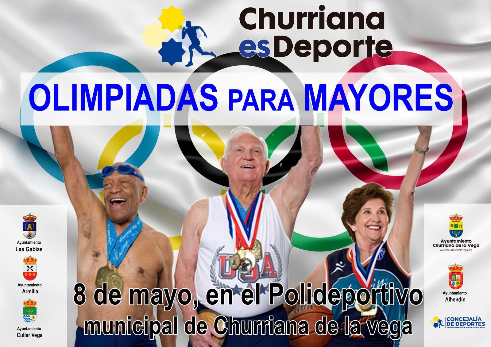 OLIMPIADAS PARA MAYORES. (8 DE MAYO)