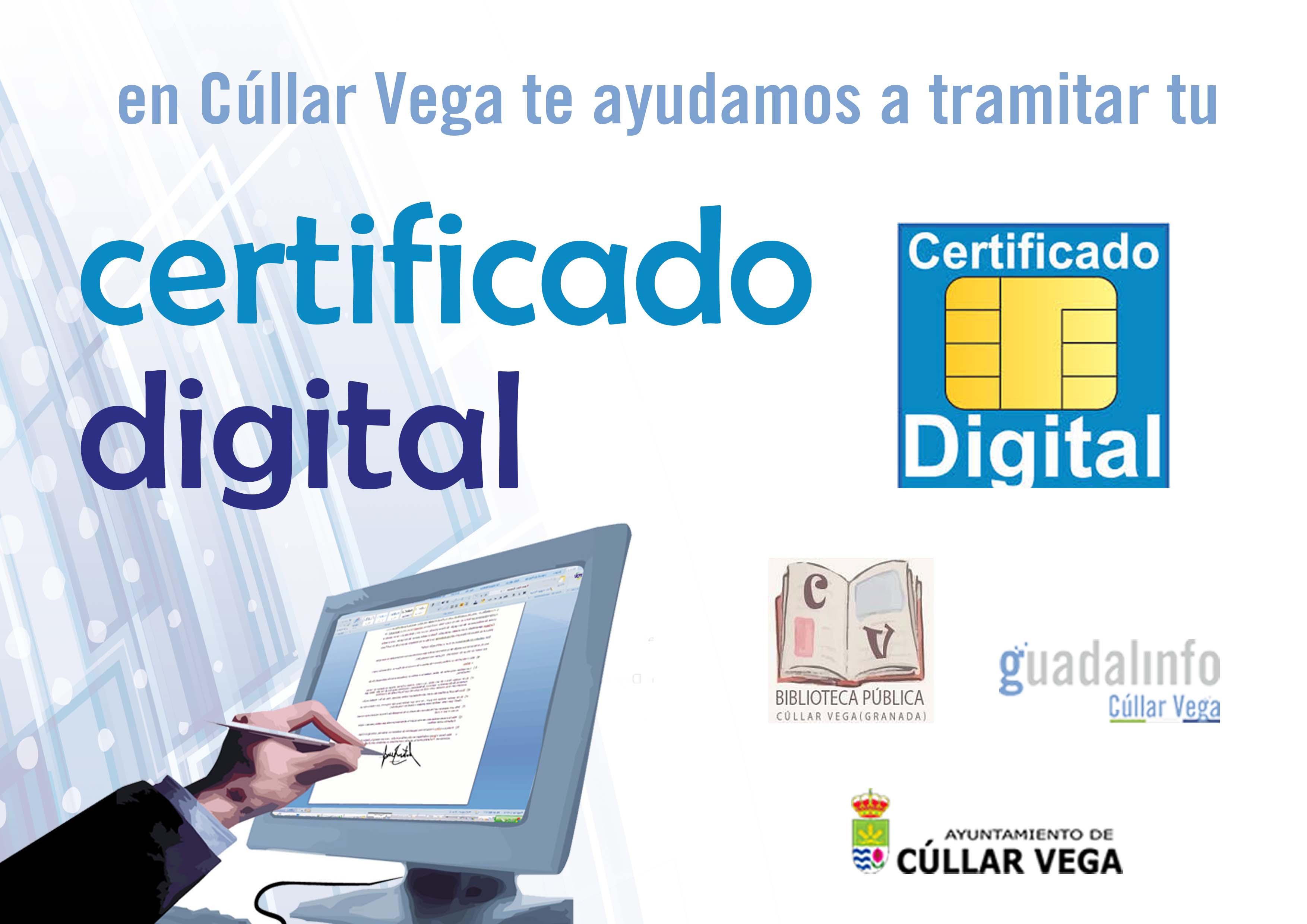 Cúllar Vega cuenta con 2 oficinas registradoras para el Certificado Digital