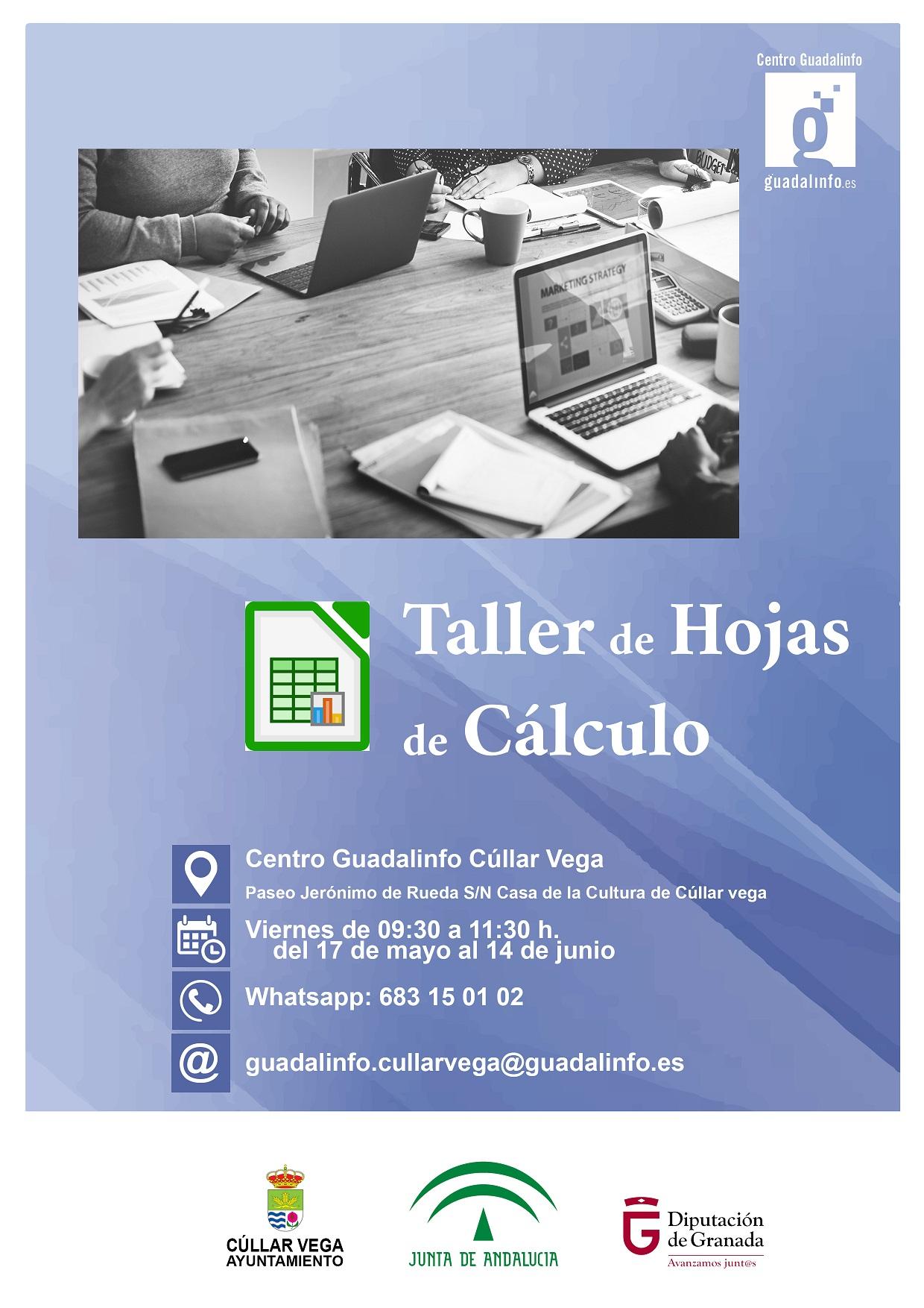 Taller de Hojas de Cálculo en Guadalinfo