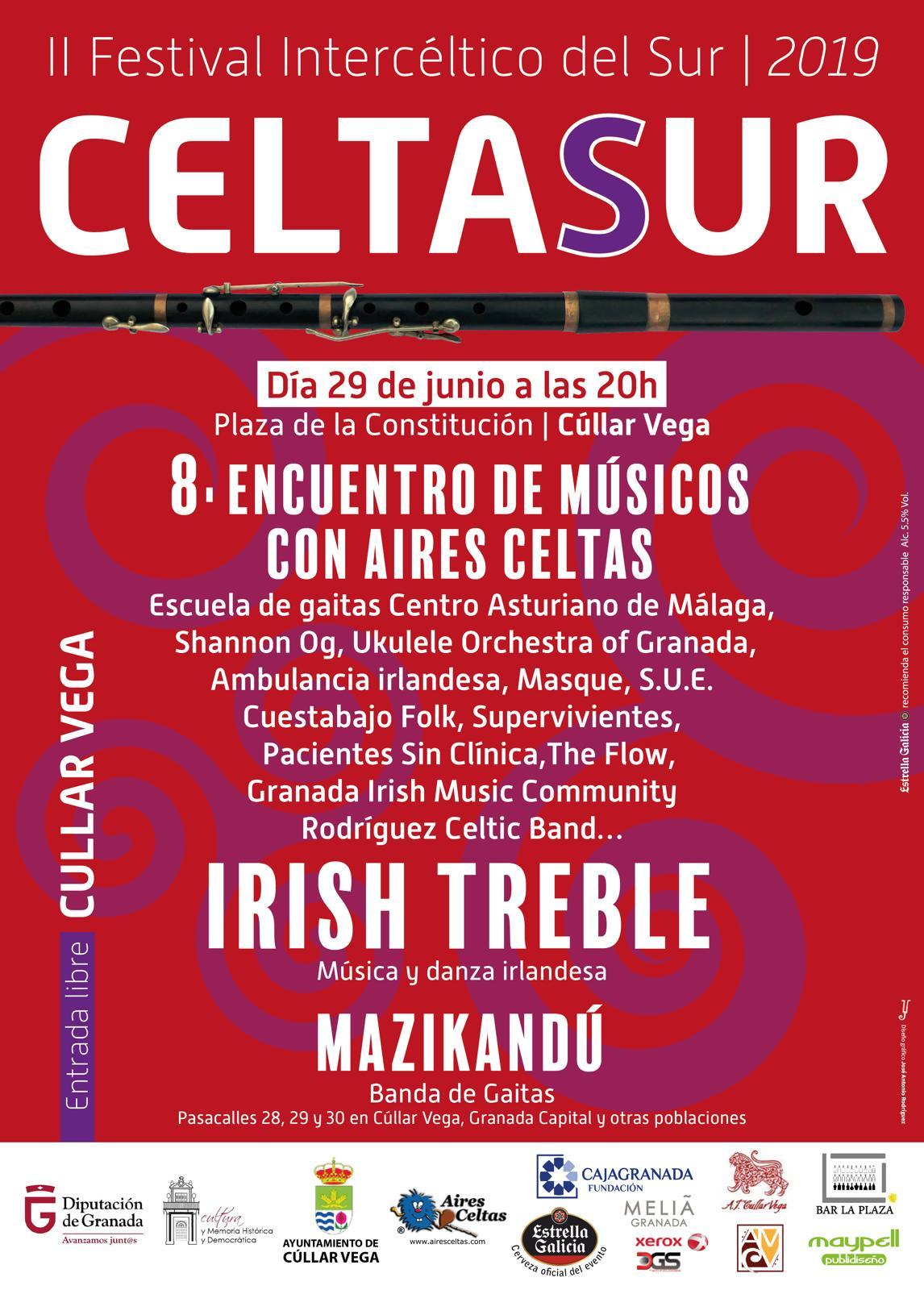 Segunda edición del Festival Intercéltico del Sur CELTASUR en Cúllar Vega