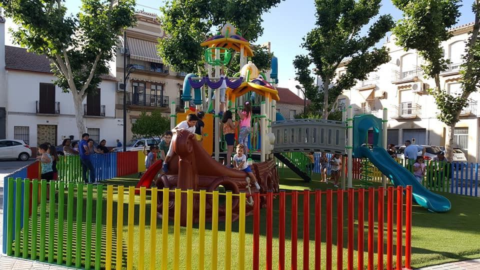 Cúllar Vega estrena el parque infantil más grande del municipio