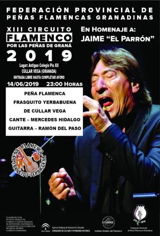 Actuación en la Peña Flamenca Frasquito Yerbabuena