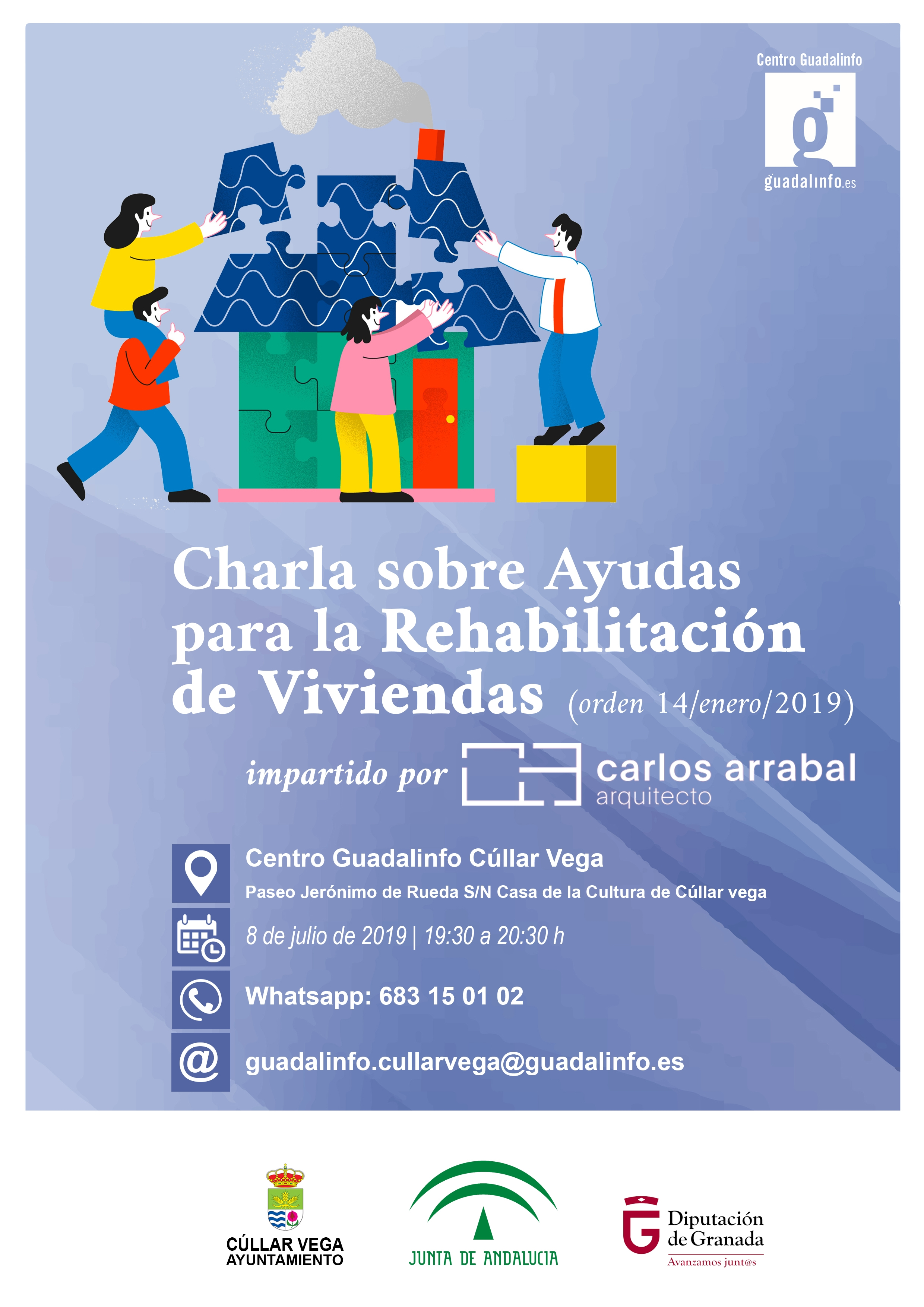 Charla sobre Ayudas para la Rehabilitación de Viviendas