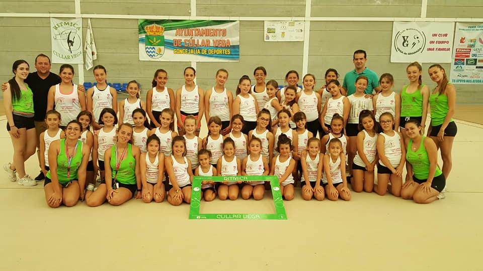 Cúllar Vega organiza tres campus infantiles de fútbol, gimnasia rítmica