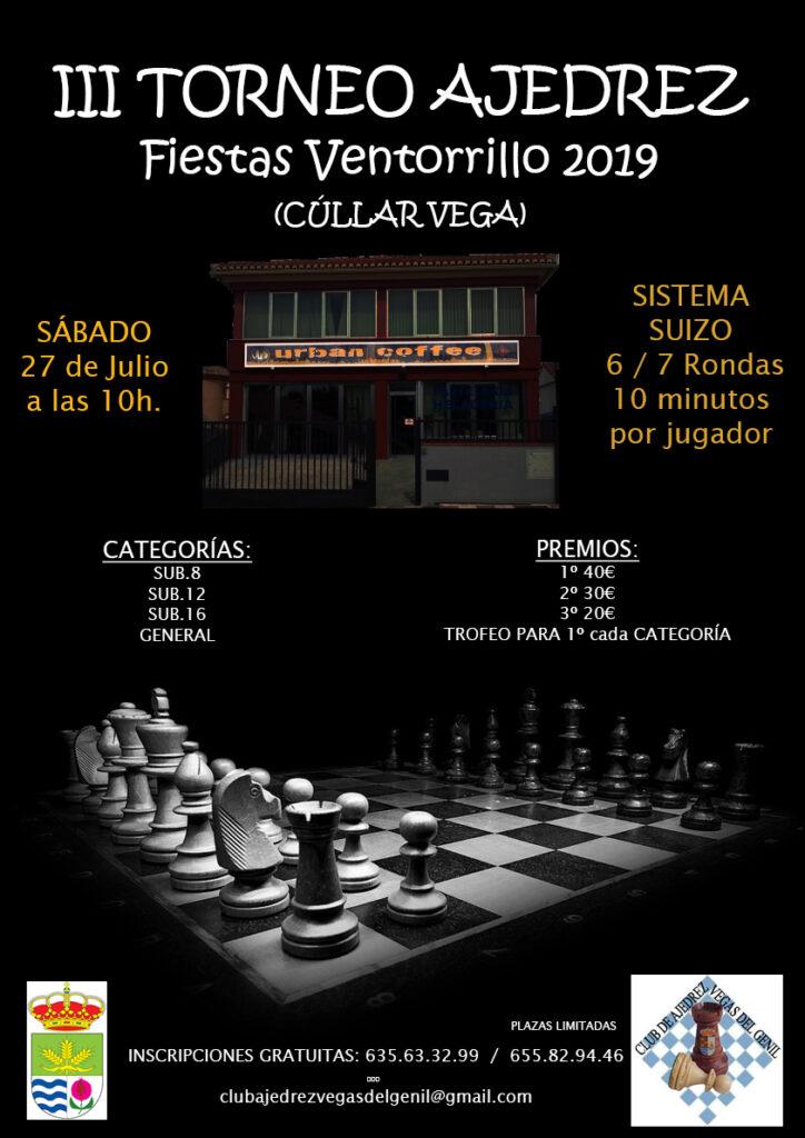 III Torneo de Ajedrez El Ventorrillo 2019