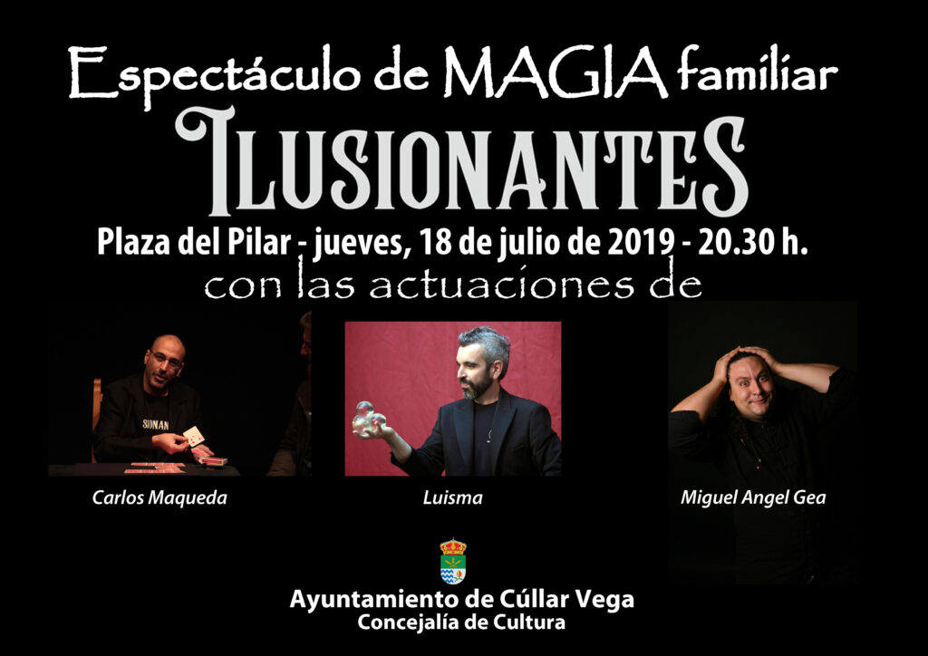 "ESPECTÁCULO DE MAGIA FAMILIAR ""ILUSIONANTES"""