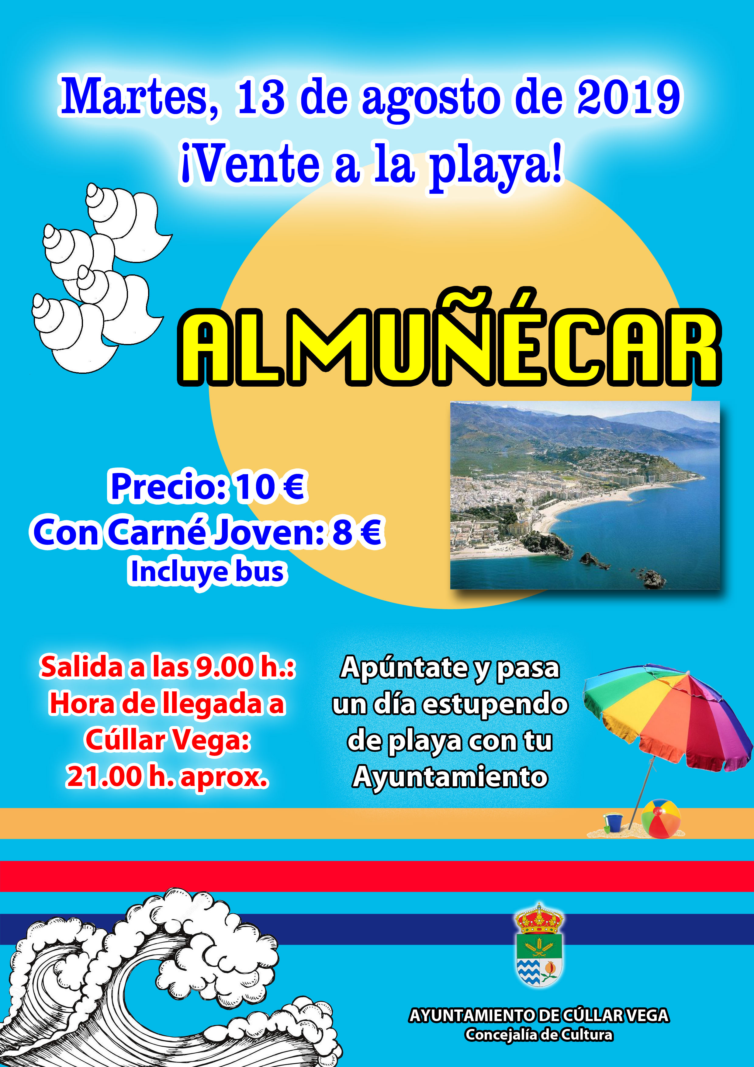 ¡Vente a la playa! Playa de Almuñecar